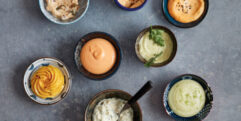 BBQ Stok-brood & sauzen